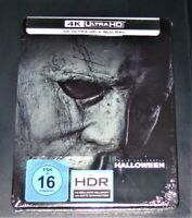 Halloween (2018) 4K Ultra HD blu ray+ ray Limitata steelbook Nuovo & Originale