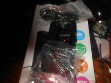 MEMOREX Black Pocket Detachable Belt clip AM/FM RADIO Portable with Headphones