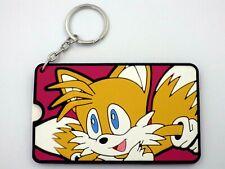 KEychain Porte-clés Sonic le Hedgehog tails porte étiquette pour valise  neuf
