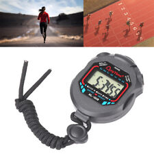 Stoppuhr Stopp Uhr Stopuhr Digital Sport Timer Uhren Taschenuhr XL-013 Schwarz