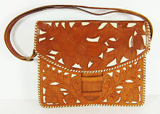 Vintage Hand Tooled Leather Purse Costa Rica Talabarteria Castro Caballo Blanco