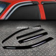 FOR 01-10 BMW X5 E53/E70 SMOKE TINT WINDOW VISOR/WIND DEFLECTOR VENT RAIN GUARD