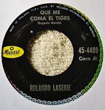Rolando Laserie Que Me Coma El Tigre Latin Jazz 45 VG++ Nice Chelo Perdona Mi