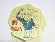 VECCHIO ADESIVO / Old Sticker EINSTEIN (cm 10) serie Renco Marwell
