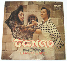 TANGO WITH THE PHILIPPINE BRASS BAND OPM LP Record