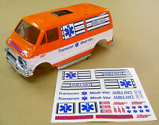 RC 'TRANSCON MEDI-VAC CANNONBALL RUN AMBULANCE' Lunch Box stickers decals