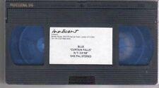 (EF848) Blue, Curtain Falls - VHS Video Cassette