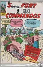 IL SERG. FURY E I SUOI COMMANDOS # 3 le maschere 1966