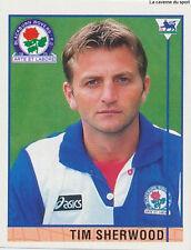 N°014 TIM SHERWOOD BLACKBURN.FC Premier League 1996 MERLIN STICKER