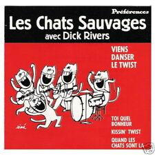 """CD """"VIENS DANSER LE TWIST"""" Les Chats Sauvages & Dick RIVERS / PREFERENCES"""