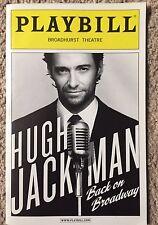 Hugh Hackman Back On Broadway Playbill Mint (The Greatest Showman)school cyrhrhg