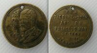 Collectable 1893 HRH The Duke Of York & HRH Princess May Of Teck Medallion