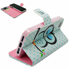 Stand Wallet Book Design Flip Leather Case Cover For Various Cell Phone Mobiles