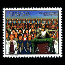 Latvia 1998 - EUROPA Stamps - Festivals and National Celebrations - Sc 463 MNH