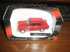 CARARAMA DIE CAST- FORD ANGLIA Mk 1 - Red LIVERY 1:43 (the 105E)