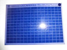 SUZUKI GS 500 E ANNO costr.: 1994 microfilm catalogo pezzo di ricambio