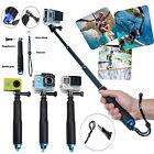 Sports Waterproof Monopod Selfie Stick Pole Handheld For GoPro Hero 4 3+ 3 2 1