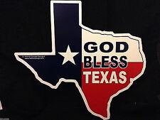 """God Bless Texas"" Decorative Sign"
