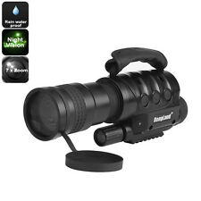 Night Vision Monocular - 7x Zoom Built-in Camera, 16GB External Memory