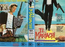 EL MARIACHI - Robert Rodriguez VHS -PAL -NEW -NEVER PLAYED! -Original Oz release