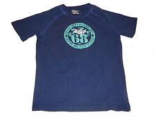 Esprit tolles T-Shirt Gr. 134 / 140 blau mit Motivdruck !