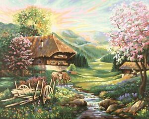 Schipper 609130505 - Malen Nach Zahlen - Der Frühling - Neu