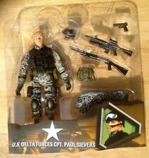 ULTIMATE SOLDIER 1/18 ELITE FORCE BBI UNIMAX OPEN CARD CPT. PAUL SIEVERS
