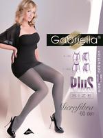 Gabriella 162 Feinstrumpfhose XXL-3XL Schwarz Strumpfhose 60DEN Nylons Übergröße