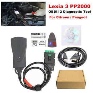 Lexia 3 PP2000 For Citroen/Peugeot OBDII 2 Diagnostic Tool w/ Diagbox V7.83 Kit
