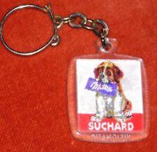 Porte-clé Keychain Visiomatic Chocolat SUCHARD ST Bernard Animé Tablette MILKA