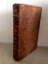 REGNIER Les Epistres et autres oeuvres avec des remarques reliure d'époque 1730