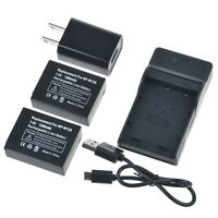 PKPOWER 2x 1300mAh NP-W126 Battery Combo for Fujifilm XE1 X-Pro1 XM1 X-T1 X-T10