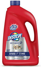 Resolve Pet Expert, Steam Clean 2X Concentrated Large Area Carpet Cleaner 60 oz