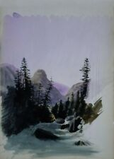 Alpine View, Mürren, 1870, JOHN SINGER SARGENT Classic Impressionism Poster