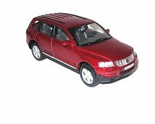 VOLKSWAGEN TOUAREG BOURDEAUX WELLY 1/32 DIECAST CAR COLLECTOR'S MODEL , NEW