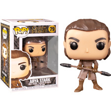 Juego Of Tronos Pop! 79 Television Vinilo Figura Arya W/ Two Headed Spear Funko