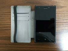 Nokia Lumia 925 - 16GB  Black (AT&T) Smartphone with phone case and original box