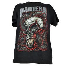 Pantera Heavy Metal Skull Concert Tshirt Tee Mens Adult Black Short Sleeve
