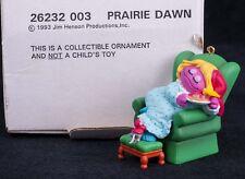 Grolier Sesame Street Muppets Henson Prairie Dawn Christmas Ornament 26232003