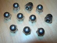 M10 dome nuts A4 Marine Grade In Acciaio Inox (barche) confezione da 6