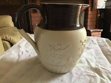 Exceptonally Rare 1805 Nelson Ceramic Jug By T L Hollins