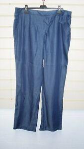 "Sheego Ladies Blue Trousers Size 22 inside Leg 34""  BNWT (G051"