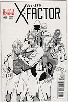 All New X-Factor (2014) #1 Sketch NM 1:100