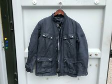 Barbour International Duke Wax Mens Jacket - Medium - Navy