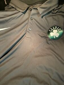 Boston Celtics Nike Polo (4XL Tall) Original Team Apparel Retails For $85