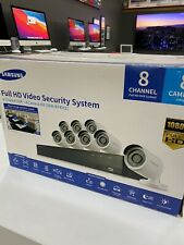 Samsung SDH-B74081 8 Channel 1080p HD 2TB Security Camera System - Black
