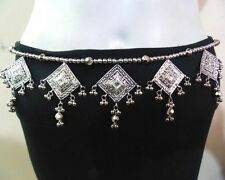 1-LOT-5 PCS.NEW KUCHI TRIBAL OXIDIZED ELEGANT CRAFTSMANSHIP HIP BELT BELLYDANCE