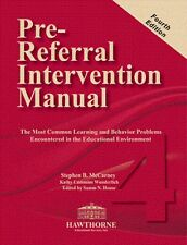 PRE-REFERRAL INTERVENTION MANUAL Fourth Edition (PRIM-4) (MANUAL ONLY)