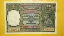 More details for india george vi 100 rupees calcutta as its office of issue about ex fine scarce.