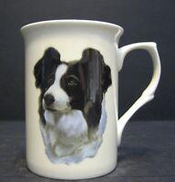 Border Collie Dog Head b/f Fine Bone China Mug Cup Beaker